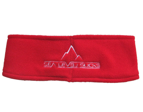 """The Solar Flareband"" Headband-Red & White"