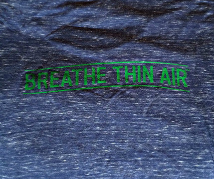 """The Breather"" Women's Short Sleeve Tee-Marble Blue & Green *XL Only*"