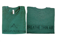 """The Breather"" Men's Short Sleeve Tee-Shamrock & Pine"