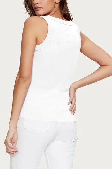 Michael Stars, Paloma Tank in White - Viva Diva Boutique