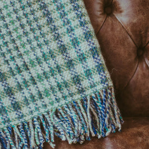 Forest Plaid Blanket