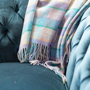 Bluebell Windowpane Throw
