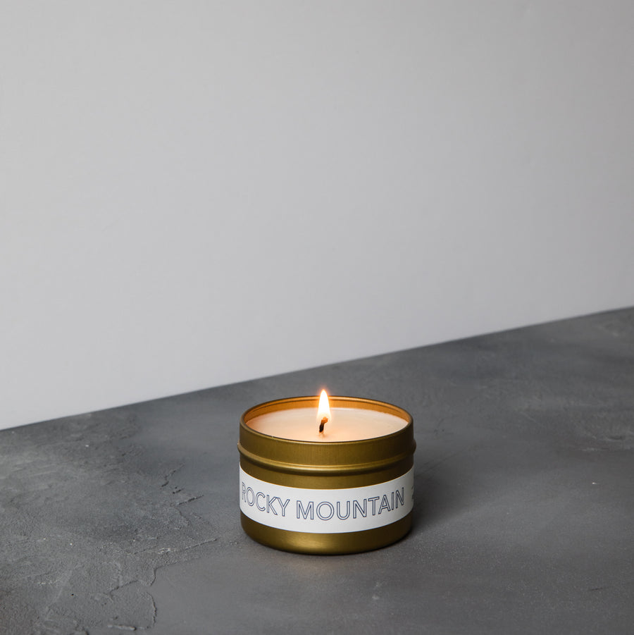 Rocky Mountain Travel Candle
