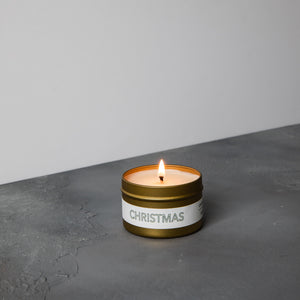 Christmas Travel Candle