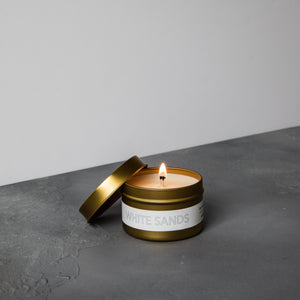 White Sands Travel Candle