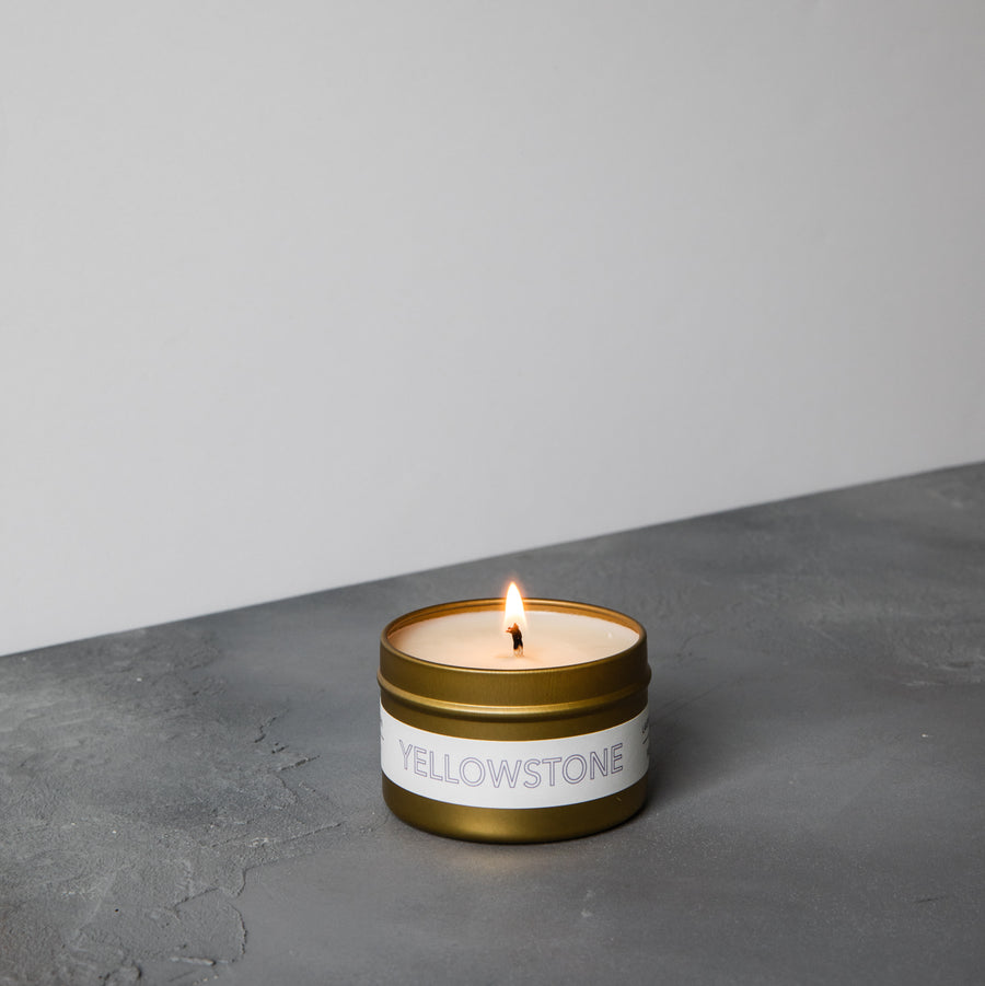 Yellowstone Travel Candle
