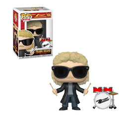 Pop! Rocks - ZZ Top Frank Beard Funko