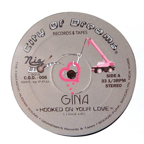 Gina - Hooked On Your Love 12-Inch