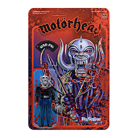 Motorhead ReAction Figure - Warpig (Bloody)