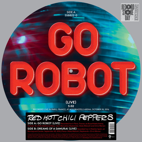Red Hot Chili Peppers - Go Robot EP Picture Disc