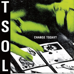 T.S.O.L. -  Change Today? LP (Lime Green Vinyl()