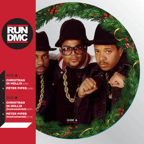 Run DMC - Christmas In Hollis Picture Disc EP