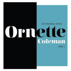 Ornette Coleman - An Evening With Ornette Coleman Part 2 LP