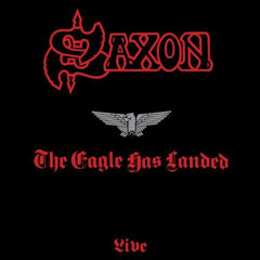 Saxon - The Eagle Has Landed LP (Splatter Vinyl)