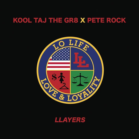Kool Taj The Gr8 X Pete Rock - Llayers / Forever 7-Inch