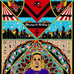 AKTHESAVIOR (AK of the Underachievers) - Blessings In The Gray 2 LP