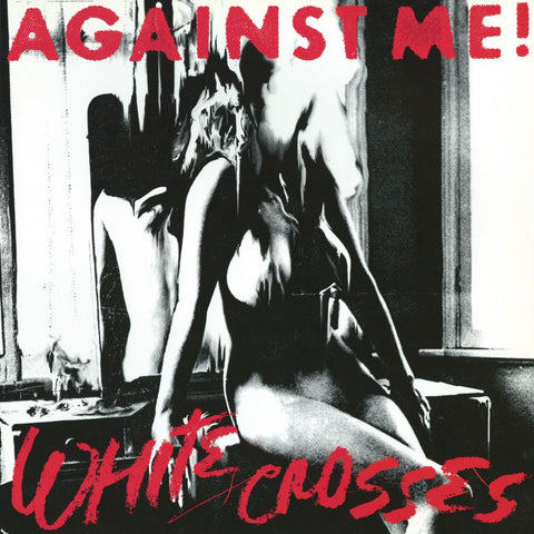 Against Me! - White Crosses LP (Silver Vinyl)