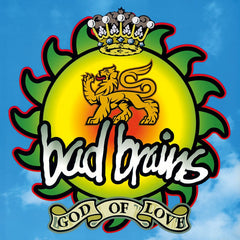 Bad Brains - God Of Love LP (Green/Yellow Vinyl)