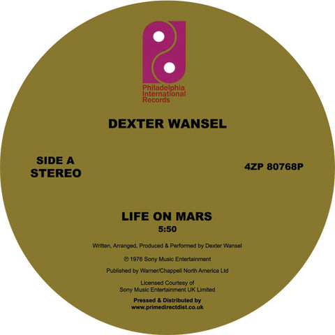 Dexter Wansel - Life On Mars 12-Inch