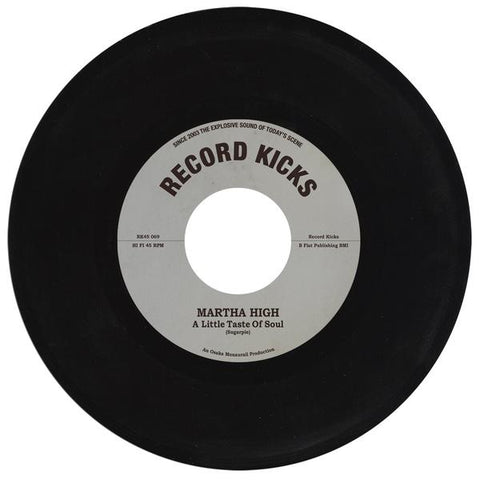 Martha High - A Little Taste Of Soul / Unwind Yourself 7-Inch