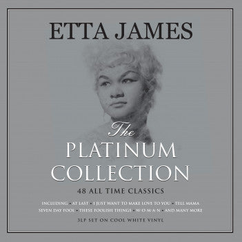 Etta James - Platinum Collection 3LP (White Vinyl)