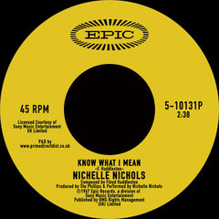 Nichelle Nichols - Know What I Mean 7-Inch