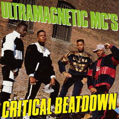Ultramagnetic MC's - Critical Beatdown 2LP (Expanded Edition, Yellow Vinyl)