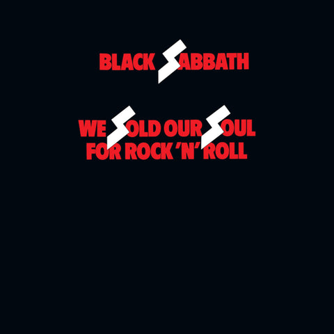 Black Sabbath - We Sold Our Soul For Rock N' Roll 2LP (Rocktober Edition, Red Vinyl)