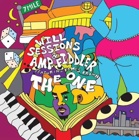 Will Sessions & Amp Fiddler feat Dames Brown - The One 2LP