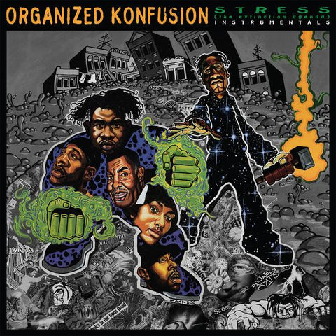 Organized Konfusion - Stress:  The Extinction Agenda Instrumentals 2LP