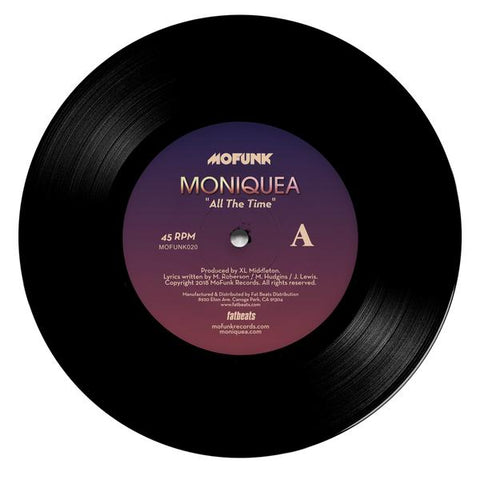 Moniquea - All The Time 7-Inch