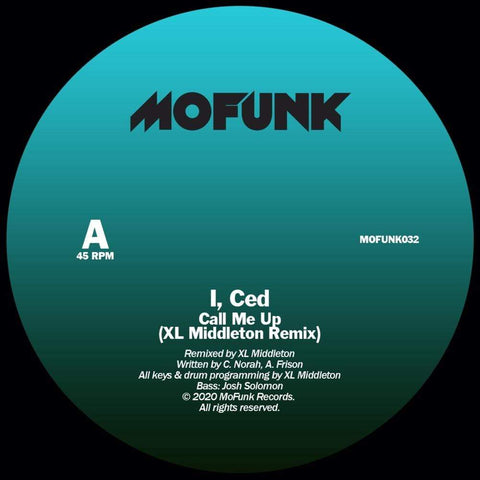 I, Ced - Interpretations Remixes 7-Inch