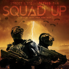 Method Man x Street Life - Squad Up b/w Instrumental 7-Inch (Red Vinyl)