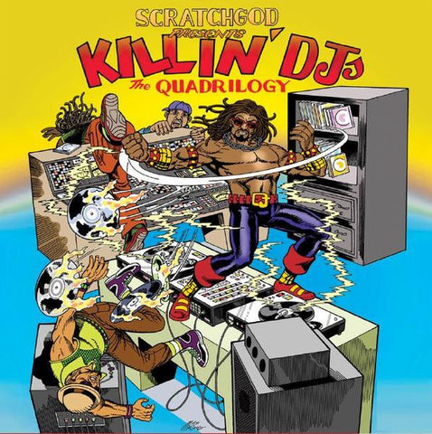 Ruckazoid - Scratchgod presents: Killin' DJ's: The Quadrilogy LP