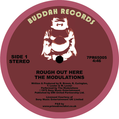 Modulations - Rough Out Here 7-Inch