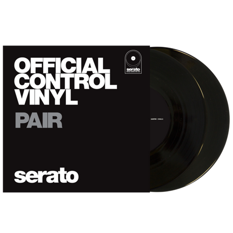 "Serato 7"" Performance Series Black Vinyl (Pair)"