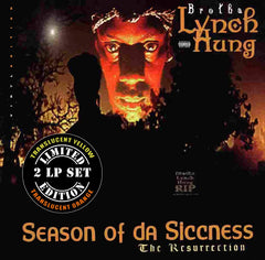 Brotha Lynch Hung - Season Of Da Siccness 2LP (Translucent Yellow/Orange Vinyl)