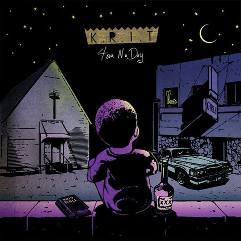 Big K.R.I.T. - 4eva N A Day 2LP (Purple Vinyl)