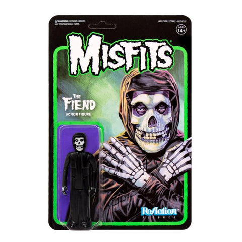 Misfits ReAction The Fiend (Midnight Black) Figure