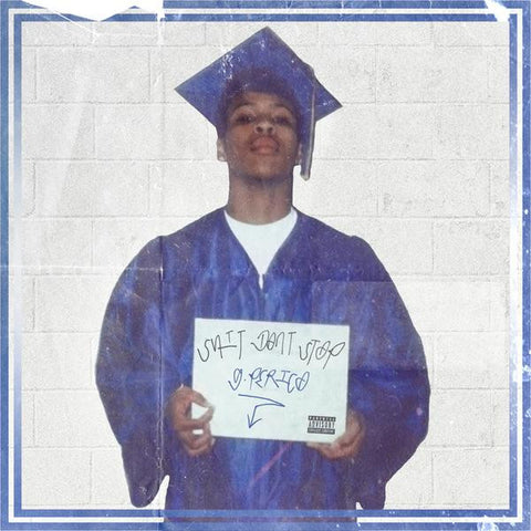 G Perico - Shit Don't Stop (180g Blue/White Split Vinyl, Hand Numbered)