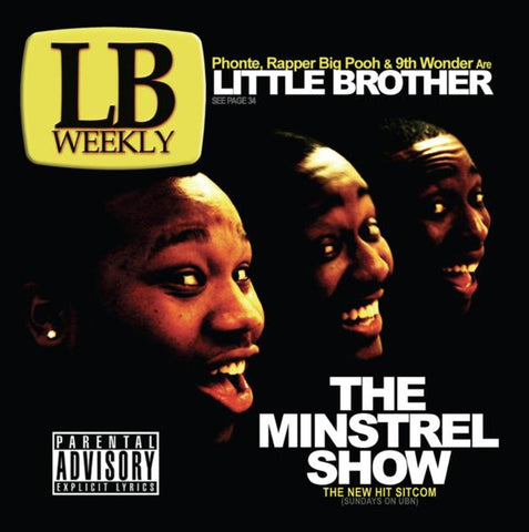 Little Brother - The Minstrel Show 2LP (Gold Vinyl)