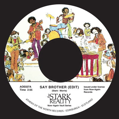 Stark Reality - Say Brother 7-Inch