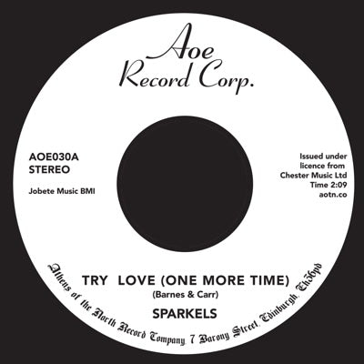 Sparkels - Try Again 7-Inch