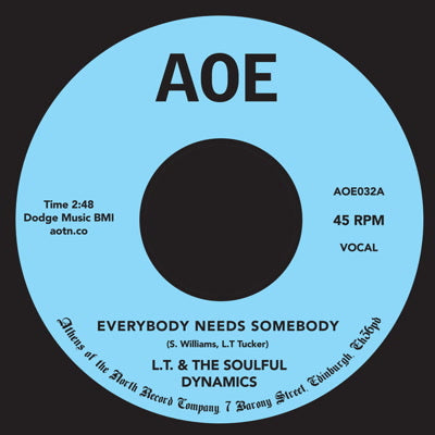 L.T. & The Soulful Dynamics - Everybody 7-Inch