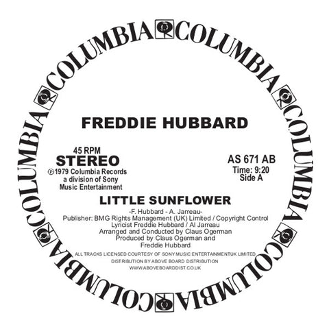 Freddie Hubbard - Little Sunflower EP
