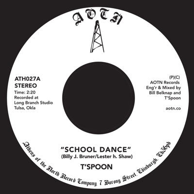 T'Spoon - Oil Dance 7-Inch