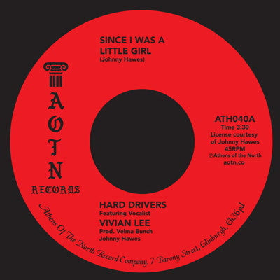 Vivian Lee - Hard Drivers / Since I Was A Little Girl 7-Inch