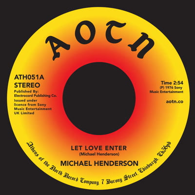 Michael Henderson - Let Love Enter 7-Inch