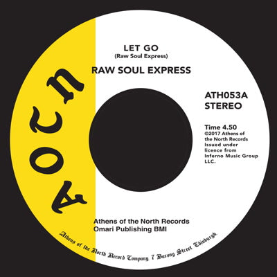 Raw Soul Exprees - Let Go 7-Inch
