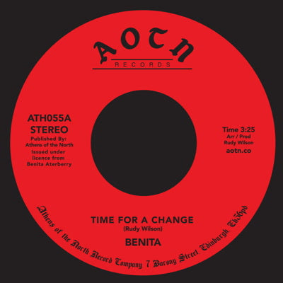 Benita - Time For A Change 7-Inch